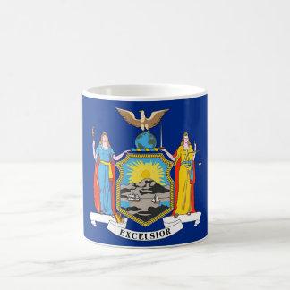 Mug with Flag of New York State - USA