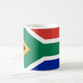 Mug with Flag of South Africa