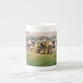 Mug with grazing cows