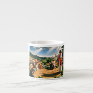 Mug with Jesus Christ nailing the gospel