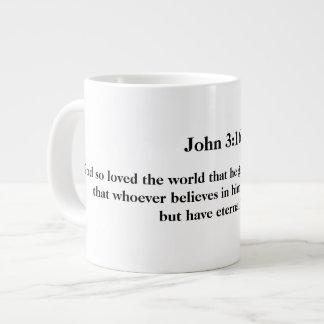 Mug with John 3:16 on it