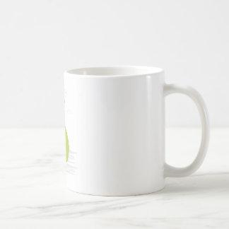 Mug with man and money bag