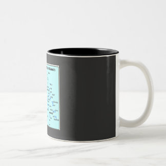 Mug with Marshall Islands map