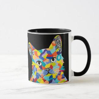 mug with original cat artwork image