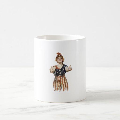 Mug With Original Patriotic Print