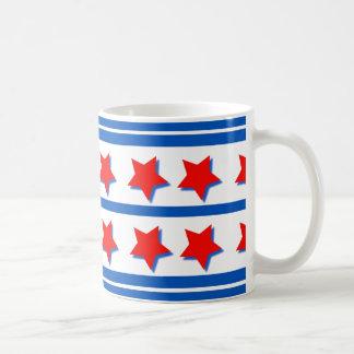 Mug with Patriotic Colors