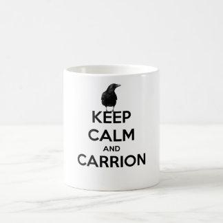 mug with poe raven