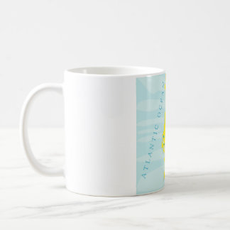 Mug with Portugal map