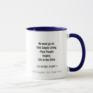 Mug with Quote: Life in the Shire