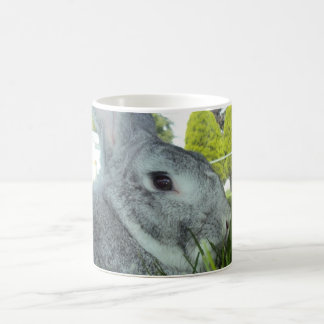 Mug with Rabbit - Rare Breed American Chinchilla