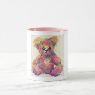 Mug with teddy bear on