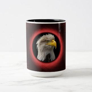 Mug  Woven Red Window Frame