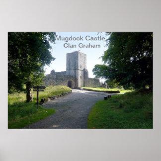 Mugdock Castle – Clan Graham Poster