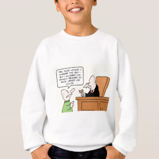 mugged judge race creed color sweatshirt