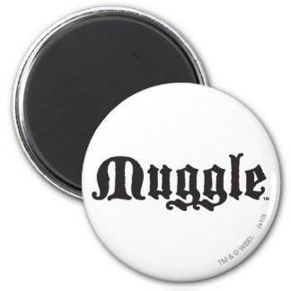 Muggle 2 Inch Round Magnet
