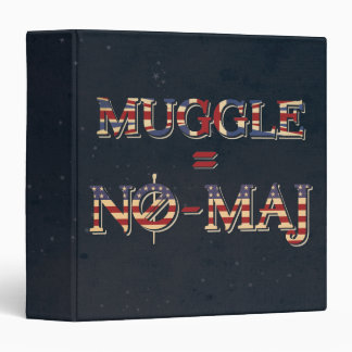 Muggle = No-Maj Binders