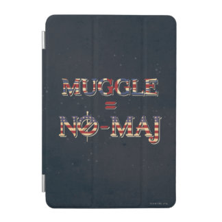 Muggle = No-Maj iPad Mini Cover