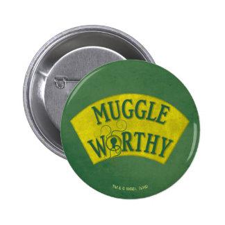 Muggle Worthy 2 Inch Round Button