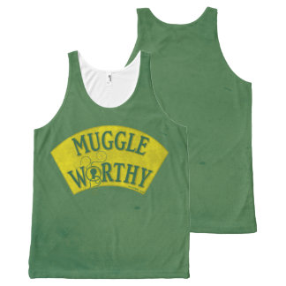 Muggle Worthy All-Over-Print Tank Top