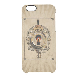 Muggle Worthy Lock With Fantastic Beast Locked In Clear iPhone 6/6S Case