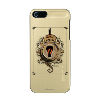 Muggle Worthy Lock With Fantastic Beast Locked In Incipio Feather® Shine iPhone 5 Case