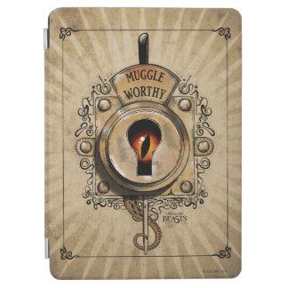 Muggle Worthy Lock With Fantastic Beast Locked In iPad Air Cover