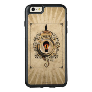 Muggle Worthy Lock With Fantastic Beast Locked In OtterBox iPhone 6/6s Plus Case