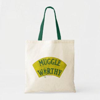 Muggle Worthy Tote Bag