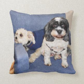 Muggles - Lhasa Apso Throw Pillow