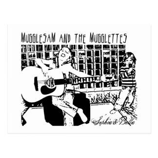 Mugglesam and the Mugglettes Postcard