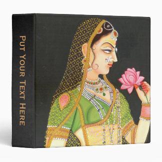 Mughal Art Personalized Name Binder