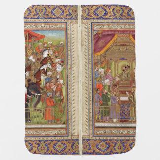 Mughal Indian India Islam Islamic Muslim Boho Art Baby Blanket