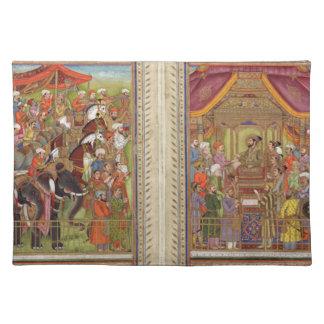 Mughal Indian India Islam Islamic Muslim Boho Art Placemat