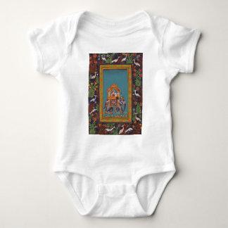 Mughal Indian India Islam Persian Persia Elephant Baby Bodysuit