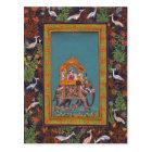 Mughal Indian India Islam Persian Persia Elephant Postcard