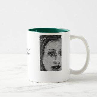 MUGS*BY*DEB Two-Tone COFFEE MUG