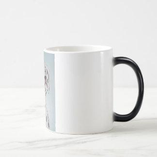 Mug's dalmation 12x16 magic mug