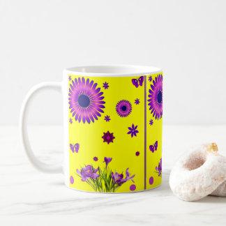 mugs flowers