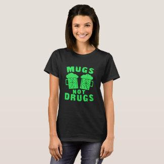 Mugs Not Drugs St. Patrick's Day Tee
