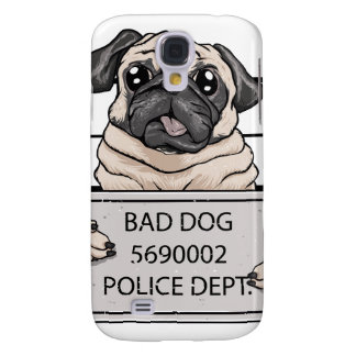 mugshot dog cartoon.