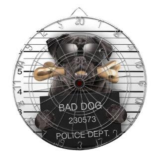 Mugshot dog,funny pug,pug dartboard