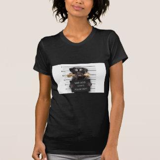 Mugshot dog,funny pug,pug T-Shirt