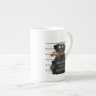 Mugshot dog,funny pug,pug tea cup