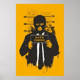 mugshot poster