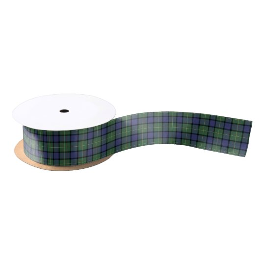 Muir and Moore Clan Scottish Tartan Satin Ribbon