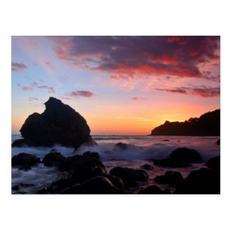 Muir Beach Sunset Postcard