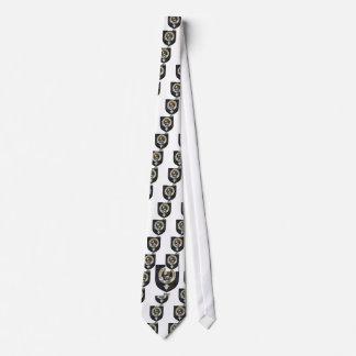 Muir Clan Crest Badge Tartan Tie
