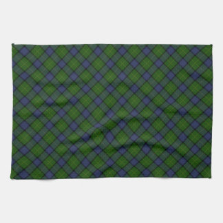 Muir Clan Tartan Designed Print Kitchen Towel