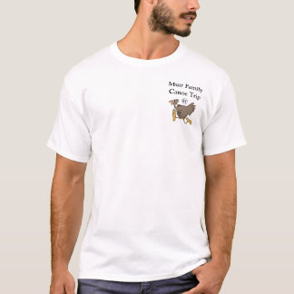 Muir Family Canoe Trip Turkey T-Shirt