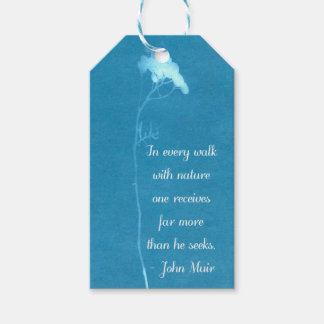 Muir Nature Quote Pack Of Gift Tags